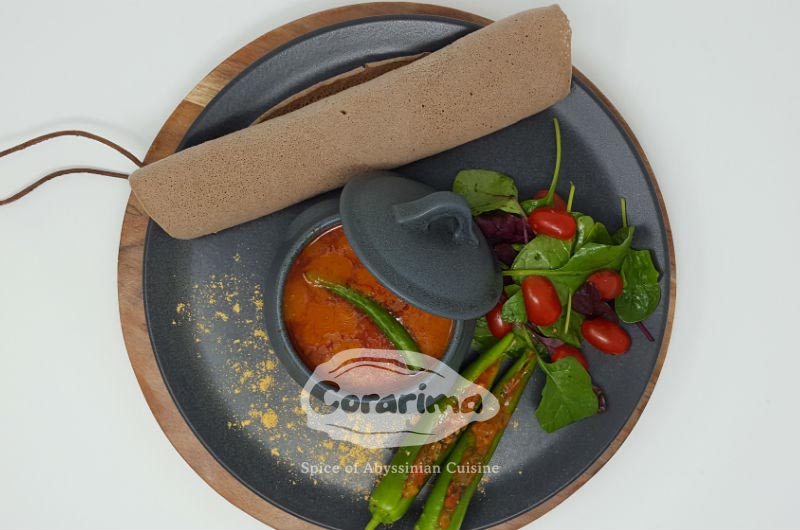 Corarima - our cuisine