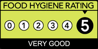 Corarima food hygiene rating is 5!